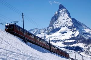berge Matterhorn Gornergradbahn ch-info